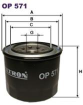 Filtron OP571 - FILTRO ACEITE