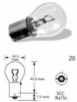 Lucas LLB382 - LAMP.AUTOM.12V 21/5W BAY15D S25 'E'