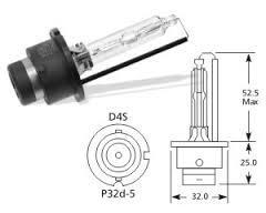 Lucas LLD4S - LAMP.AUT.GAS DISCHARGE 42V 35W P32D