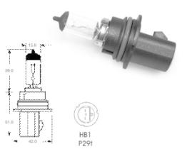 Xtec 51000052 - LAMPARA H3 -24 -70W - PK22S