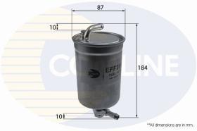 Comline EFF286D - FILTRO COMBUSTIBLE