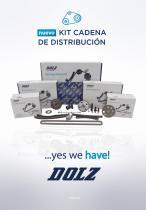 Kits de cadena de distribución  Dolz